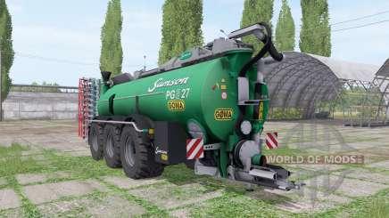 Sansão PG II 27 Göma para Farming Simulator 2017