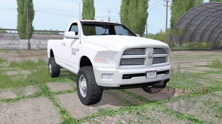 Dodge Ram 2500 Heavy Duty Regular Cab 2012 para Farming Simulator 2017