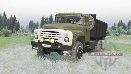 ZIL 130 4x4 verde para Spin Tires