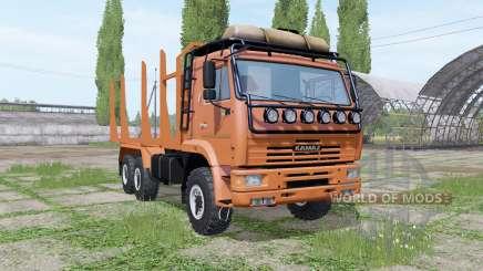 KAMAZ 43118 madeira para Farming Simulator 2017