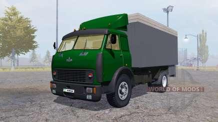 MAZ 500 recipiente verde para Farming Simulator 2013