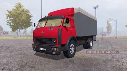 MAZ 500 recipiente vermelho para Farming Simulator 2013