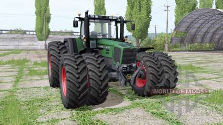 Fendt Favorit 816 Turboshift double wheels para Farming Simulator 2017