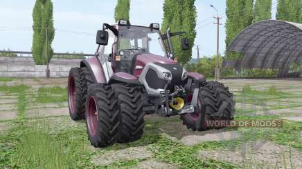 Lindner Lintrac 90 double wheels para Farming Simulator 2017