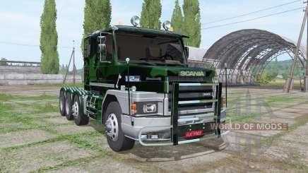 Scania T112HW 8x8 360 forest para Farming Simulator 2017