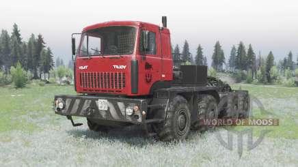 MZKT 7429 vermelho para Spin Tires