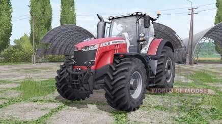 Massey Ferguson 8740 S Michelin v2.0 para Farming Simulator 2017