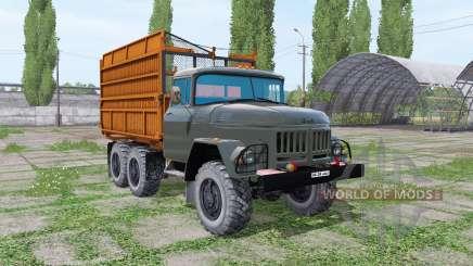 ZIL 131 silos para Farming Simulator 2017