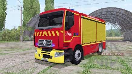 Renault D Sapeurs-Pompiers para Farming Simulator 2017