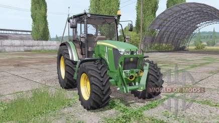 John Deere 5075M loader mounting para Farming Simulator 2017