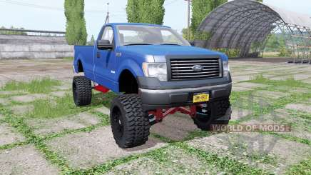 Ford F-150 EcoBoost Regular Cab lifted para Farming Simulator 2017