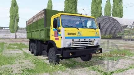 KamAZ 55102 6x6 para Farming Simulator 2017