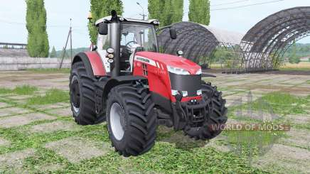 Massey Ferguson 8727 wheel configurations para Farming Simulator 2017