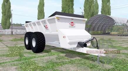 Kuhn Knight SLC 141 ProTwin Slinger para Farming Simulator 2017
