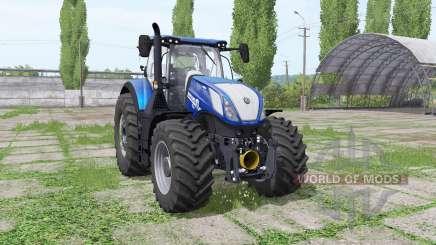 New Holland T7.315 HD Blue Power para Farming Simulator 2017