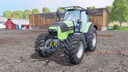 Deutz-Fahr Agrotron 7250 TTV forest para Farming Simulator 2015