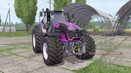 Deutz-Fahr Agrotron 9290 TTV lila design para Farming Simulator 2017
