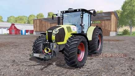 CLAAS Arion 650 twin wheels para Farming Simulator 2015