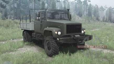 GAZ 33081 o Caçador-II para MudRunner