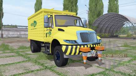 International DuraStar chipper truck para Farming Simulator 2017