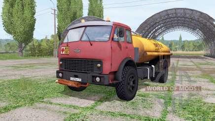MAZ-500-tanque v2.2 para Farming Simulator 2017