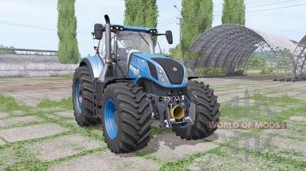 New Holland T7.315 blue para Farming Simulator 2017