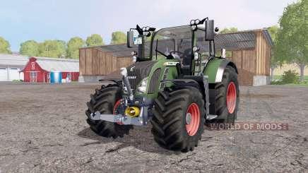 Fendt 718 Vario SCR Profi Plus FL para Farming Simulator 2015