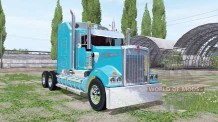 Kenworth T908 Sleeper Cab para Farming Simulator 2017