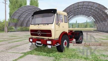 A Mercedes-Benz NG 1632 para Farming Simulator 2017