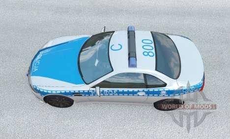 ETK K-Series Polska Policja v1.2 para BeamNG Drive