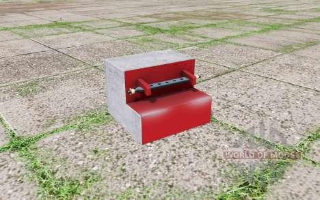 Rear weight para Farming Simulator 2017