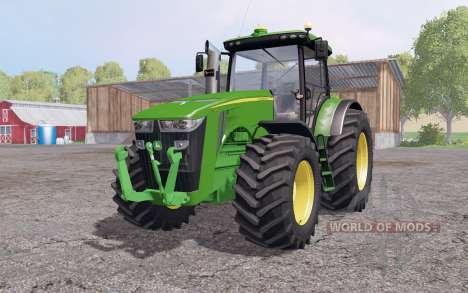 John Deere 8360R interactive control para Farming Simulator 2015