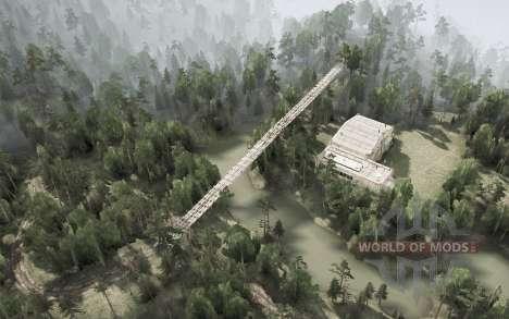 Distrito De Anshan. A Cidade Shijie para Spintires MudRunner