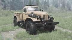 ZIL 157 4x4 Lenhador para MudRunner