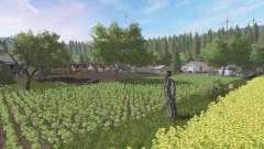 Uma verdadeira aldeia polonesa v2.1 para Farming Simulator 2017