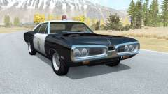 Dodge Coronet California Highway Patrol v1.1 para BeamNG Drive
