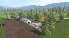 Uma verdadeira aldeia polonesa v2.0 para Farming Simulator 2017