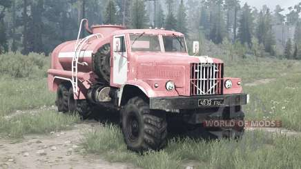 KrAZ 255B CA 8.5 para MudRunner