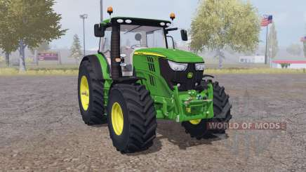 John Deere 6210R interactive control para Farming Simulator 2013