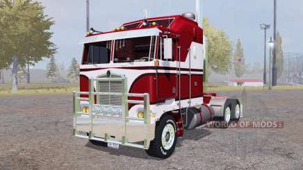 Kenworth K100 red para Farming Simulator 2013
