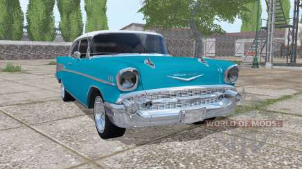Chevrolet Bel Air (2400) 1957 v1.0.0.2 para Farming Simulator 2017