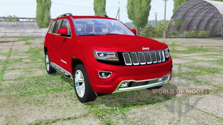Jeep Grand Cherokee Limited (WK2) 2013 para Farming Simulator 2017