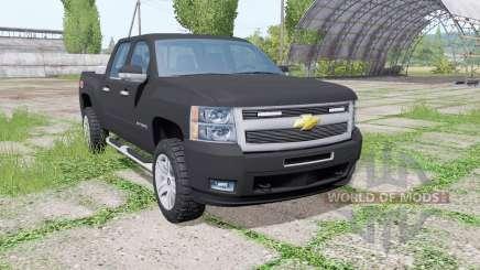 Chevrolet Silverado Z71 (GMT901) Crew Cab v2.0 para Farming Simulator 2017
