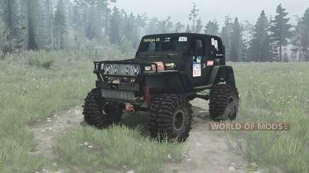 Jeep Wrangler (TJ) Ladoga Trophy v2.0 para MudRunner