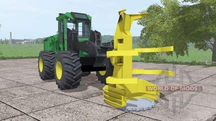 John Deere 643K para Farming Simulator 2017