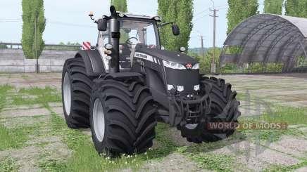 Massey Ferguson 8735 Big Terra Reifen v1.0.2.9 para Farming Simulator 2017