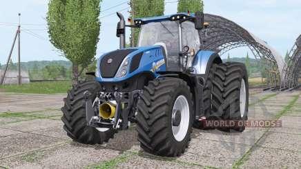 New Holland T7.290 dual rear para Farming Simulator 2017
