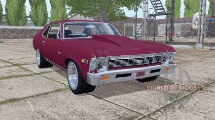 Chevrolet Nova SS 396 1969 v1.0.0.2 para Farming Simulator 2017