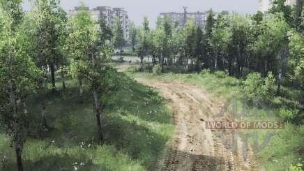 A guarnição do Conde - 17 fortificada região para Spin Tires