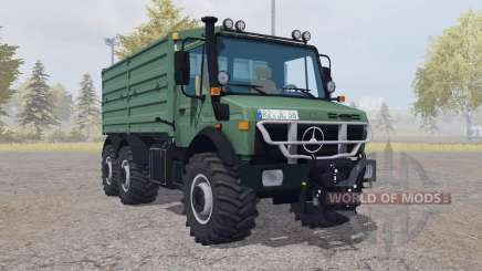 Mercedes-Benz Unimog U2450 L 6x6 v2.0 para Farming Simulator 2013
